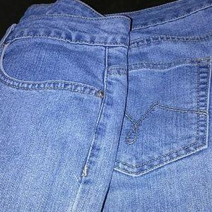 Ladies plus Capri jeans